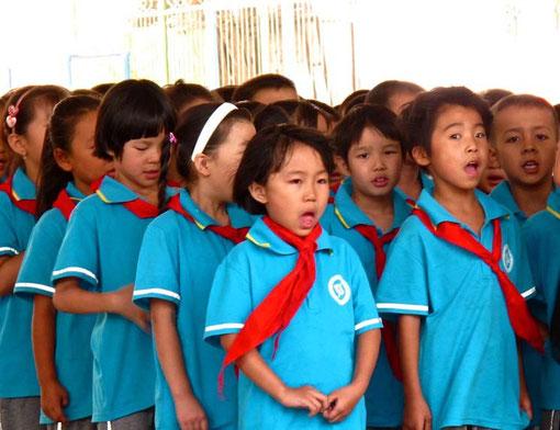 die Kinder - überall auf der Welt - begeistern sich bedingungslos für das was Ihnen gelehrt wird
