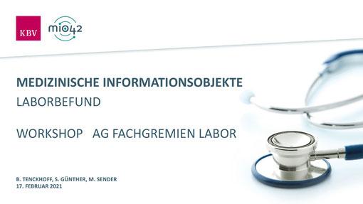 Medizinische Informationsobjekte (MIO)