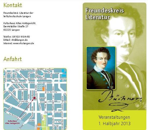 szenische Lesung mit Markus Schultz in Langen/Hessen