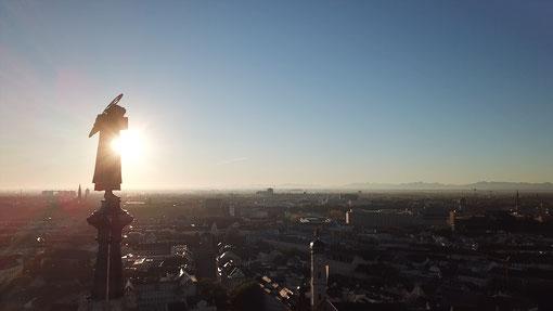 Drohnenflug München