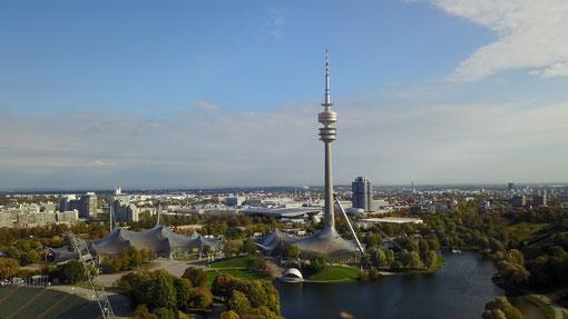Drohnenaufnahmen München – Luftbildaufnahmen