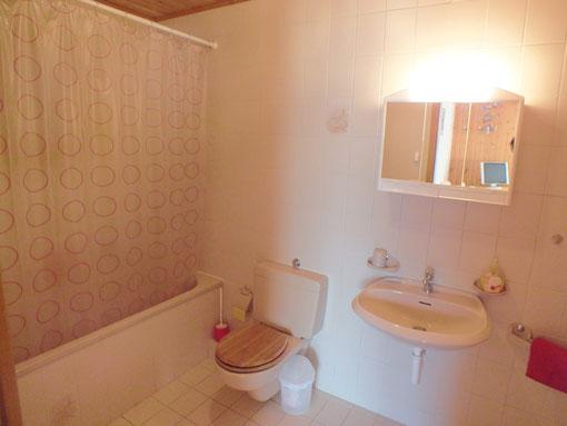 Chalet les Gires : salle de bains