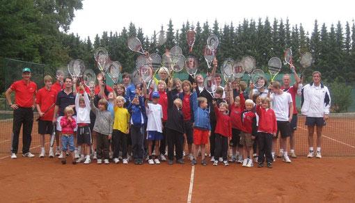 3. Level-Turnier am 11.09.2010 auf der Anlage des TSV Adendorf