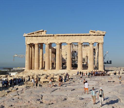Partenone Acropoli di Atene Grecia