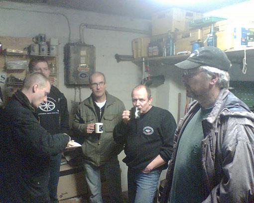 Kaffee und Wurst satt!