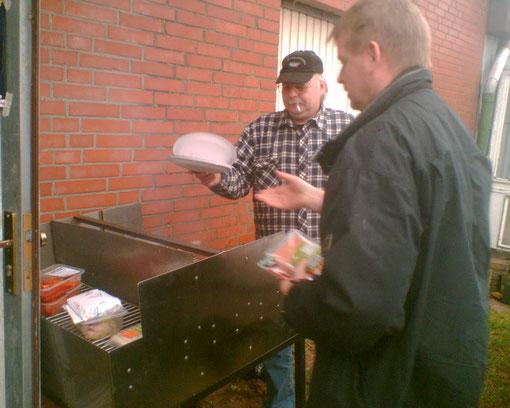 Vegetarische Regenwurst