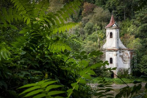 Cincis Lake - Biserica Greco-Catolica  / Reisebericht Rumänien