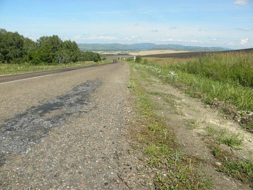 Вид на село Идринское 2011 год.