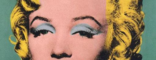 """A. Warhol, """"Marilyn Monroe"""" (1967), particolare"""