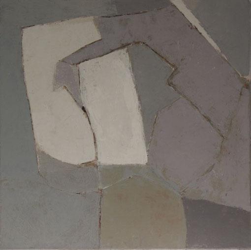 Enquête d'amour / Acrylique sur toile 60 x 60