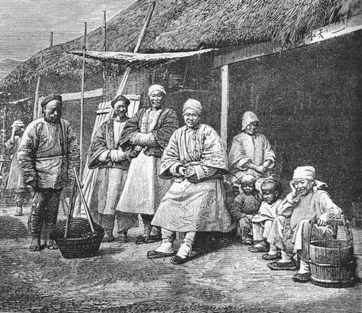 Indigènes de Széchuan.