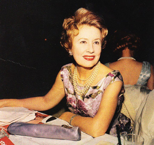 Fund-Raiser - Irene Dunne in 1966, the year after her husband died, when she devoted much of her time to volunteer work for the Republican Party and the Catholic Church