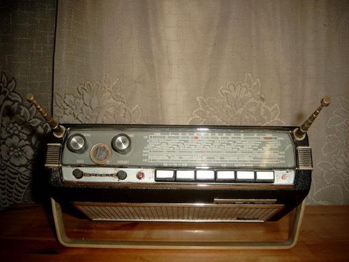 Kofferradio von oben