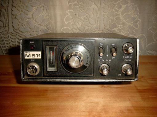Hersteller DNT Typ 511M Gerät hat auch schon 31 Jahre auf den Buckel ..