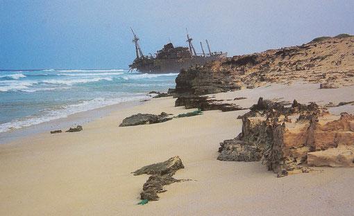 Auch hier sind Navigationsfehler unverzeihlich  SAL / CABO VERDE  Nov.2011