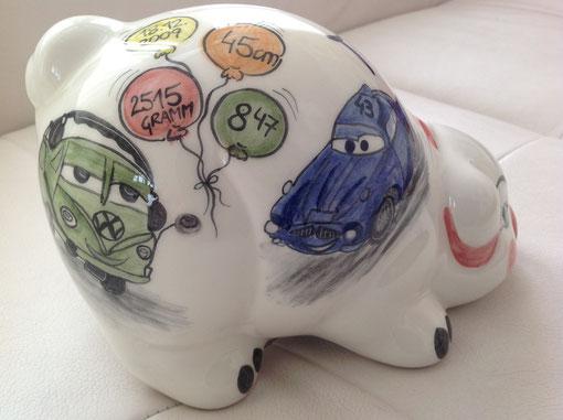 Sparschwein für Kinder