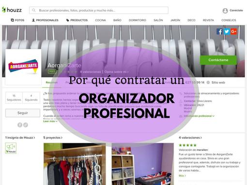 Por qué contratar un organizador profesional en España - AorganiZarte