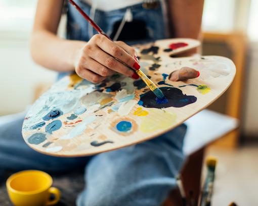 Lebenskunst - Kreatives Mentoring Kunsttherapie Farbtherapie und Stimmtherapie Kathrin Fischbach