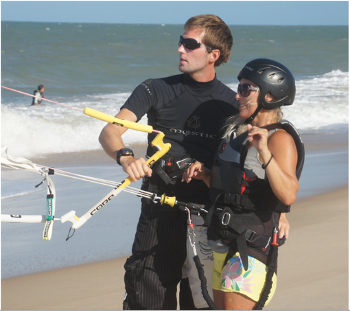Kitesurfing in Cumbuco ! Lessons and Kitecourses !