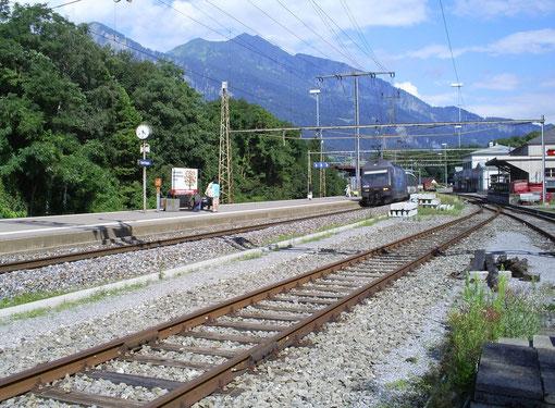 Bad Ragaz am 18. Juli 2008 mit dem IR 784