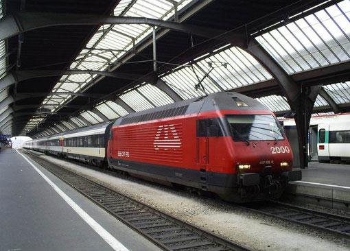 Zürich HB am 16. April 2008