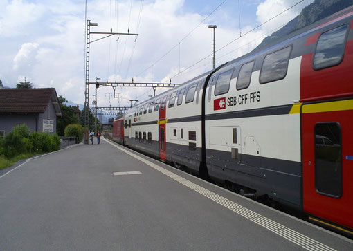 IC 578 in Sargans am 09. Juni 2008
