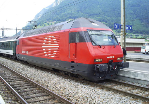 IR 775 in Sargans am 09. Juni 2008