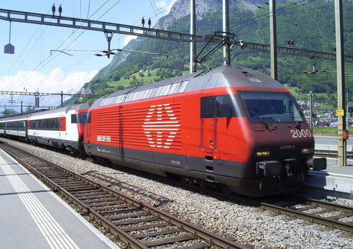 IR 775 in Sargans am 23. Mai 2008