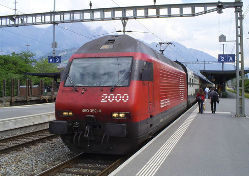IR 778 in Sargans am 09. Juni 2008