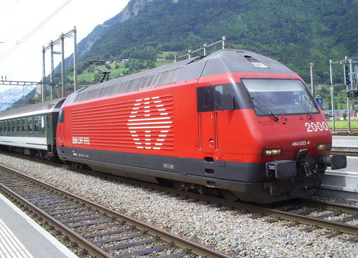 IR 775 in Sargans am 24. Mai 2008