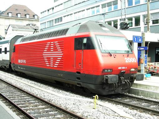 Foto: M. Huber in St. Gallen am 31. Mai 2008