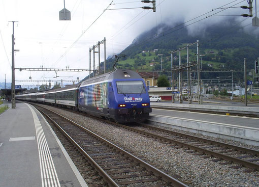 IR 775 in Sargans am 07. Juni 2008