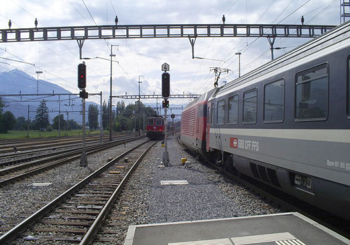 IR 765 in Sargans am 09. Juni 2008