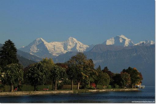 Blick vom Schadaupark Richtung Oberland
