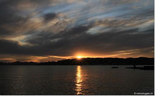 einen schönen Sunset...