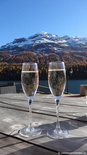 Endlich - im Hotel Waldhaus am See in St. Moritz haben wir gefunden,
