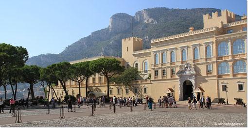 Der Palast von Monaco.