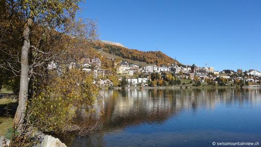 Weiter geht's nach St. Moritz.