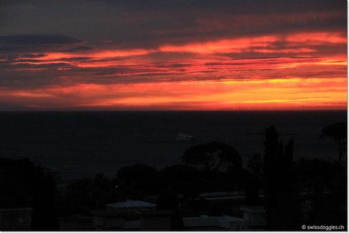 dass der Sonnenaufgang auch wirklich spektakulär ist.