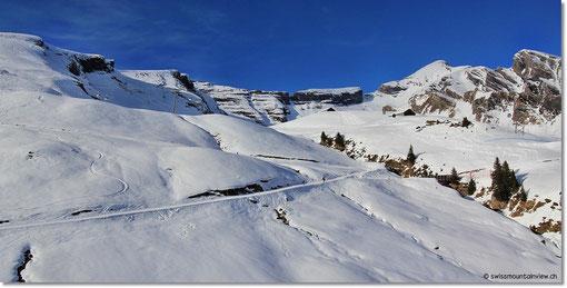 Schon bald erreichen wir Grindelwald, wo Nathi und Jürg warten.