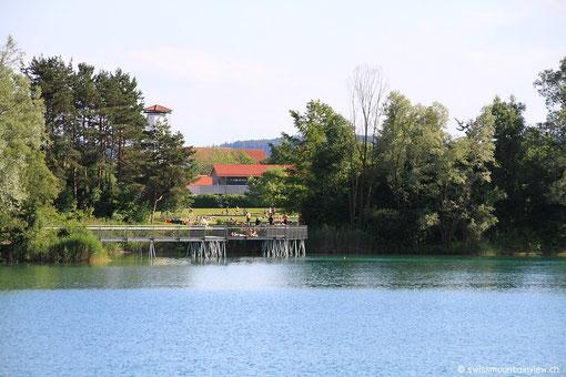..und wieder am Schlosssee.