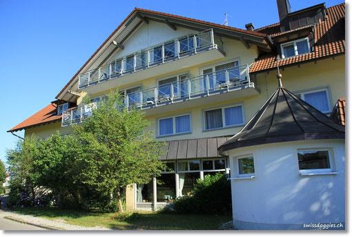Am späten Nachmittag kommen wir ins Hotel Gierer in Wasserburg,