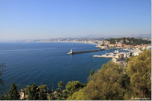 Nach dem Morgenspaziergang und Brunch auf dem Balkon steht heute ein Ausflug nach Monaco auf dem Programm.