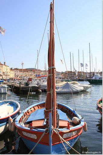 das Oli hier ein so schönes Boot hat ;)