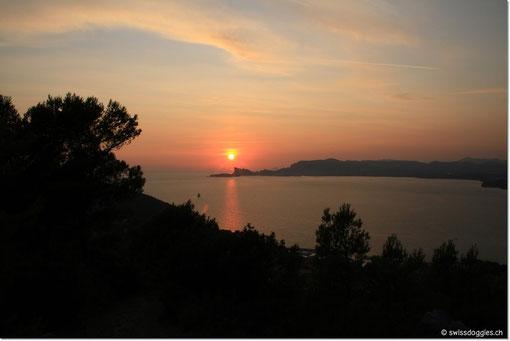 Sonnenuntergang;
