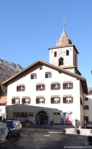 Kirche von Bergün