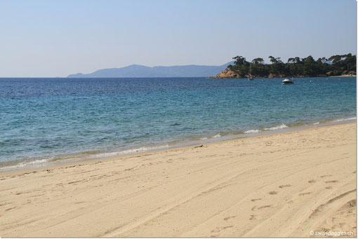 der Küste entlang nach St. Tropez.