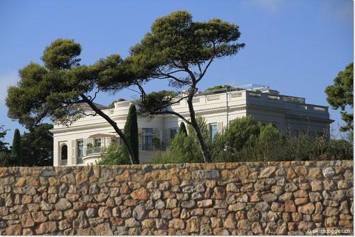 Die Villa von Roman Abramovich.