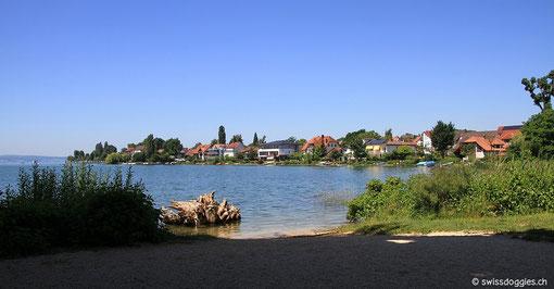 Dem See entlang fahren wir durch all die malerischen Dörfer