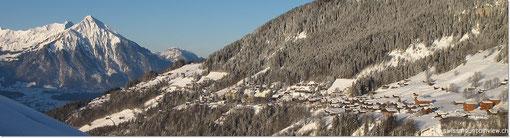 mit dieser tollen Aussicht direkt von der Wohnung www.swissmountainview.ch